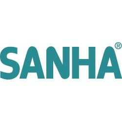 Cinkotā tērauda sistēma SANHA-Therm