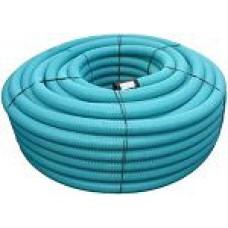 PVC drenāžas caurule 92/80 bez filtra(150m) balta