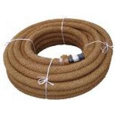 PVC dren.caur.128/113 ar kokosa filtru (10m)