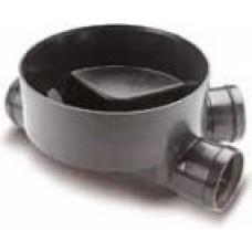 Akas pamatne 315/160/160 PVC, 3. tips Wavin