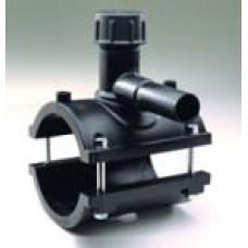 Elektrometināma sedlu uzlika D110/63mm, ar urbi
