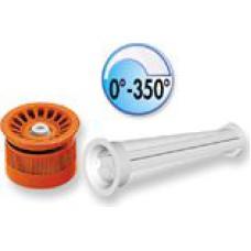 Pop-Up sprauslas galva 0°-350° 10 l/min (Meteo)