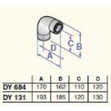 Dūmvada līkums 87* D60/100, DY684