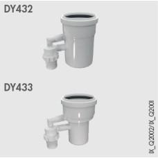 Dūmvadu pretvārsts 80/110mm, (IX145-50/70) DY432
