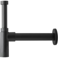 Herz izlietnes sifons Design 1 1/4 x 32, melns