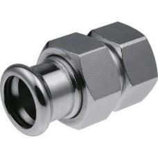 Karbona saskrūve 15x1/2''i (Steel) KAN-therm