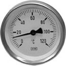 Termometrs T80 0-120*C (1/2''ā L=42mm) WATTS