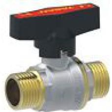 Lodveida ventilis ā-ā 1'' ar tauriņrokturi WTG