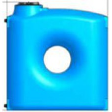 Polietilēna tvertne CPZ-1500 ELBI