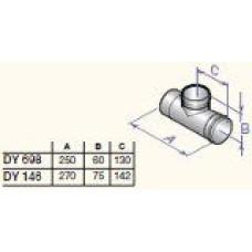 Dūmvada revīzija, taisna D60, DY698, PPS