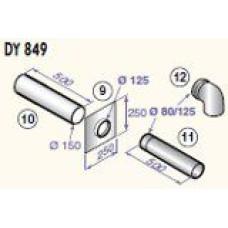 Katla dūmvadu komplekts D80/125, DY849