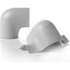 Siltumizolācijas PVC līkums 154mm x 90°