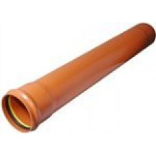 PVC caurule SN4 Dn160x4,0 2m PipeLife