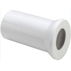 WC pieslēgs L=250mm balts Viega