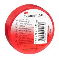 Temflex izolācijas lente 19mm sarkana 19mmx20mx0,15mm