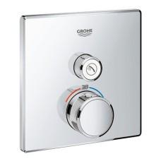 Grohtherm SmartControl dušas termostata virsapmetuma daļa, 1 režīms, hroms