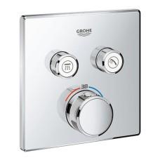 Grohtherm SmartControl dušas termostata virsapmetuma daļa, 2 režīmi, hroms