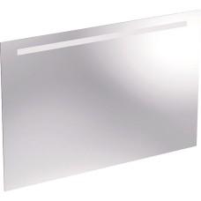 Spogulis ar LED apgaismojumu Option,apgaismojums augšpusē 100x65