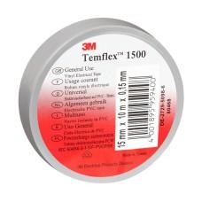 Temflex izolācijas lente 19mm pelēka 19mmx20mx0,15mm