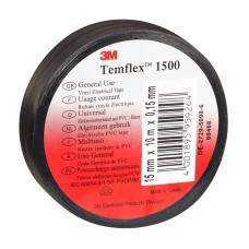 Temflex izolācijas lente 19mm melna 19mmx20mx0,15mm