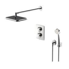 OPTIMA dušas sistēmas zemapmetuma galva, dušas termostāts