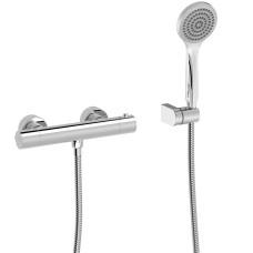 BASE-TRES PLUS dušas termostats ar rokas dušu
