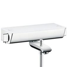Ecostat Select iebūvēts termostats ar diviem izvadiem, balts/hroms