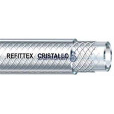Šļūtene PVC CRISTALLO armēta 22 x 30 mm