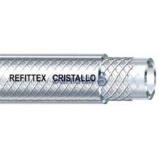 Šļūtene PVC CRISTALLO armēta 12.5x19 mm