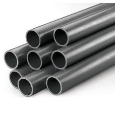 PVC līmējamā caurule ar gludiem galiem 20 mm