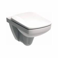 Nova Pro pie sienas piestiprināms WC pods, taisnstūrveida, 53cm