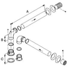 Dubutdūmvada komplekts D=80mm