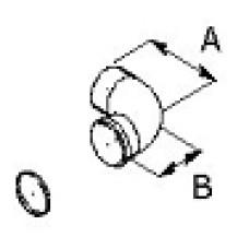 Līkums MF90gr.D80mm dubutdūmv.