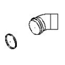 Līkums MF45gr.D80mm dubutdūmv.
