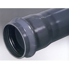 110x4,2x6000 PVC PN10 spiedvads S125