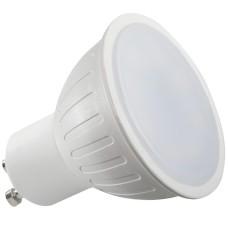 Spuldze LED GU10 7W 100°580Lum.230V 3000K MR Greelux